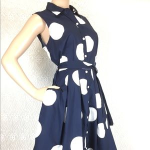 Talbots Dresses - {Talbots Petite} Cotton Dress with POCKETS
